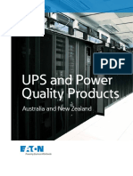 UPS and Power Qyality Products Australia and New Zealand Catalogue (1)
