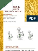 Consumer Behaviour (Water-Diamond Theory)