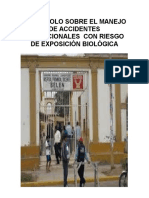 PROTOCOLO SOBRE EL MANEJO DE ACCIDENTES OCUPACIONALES  CON RIESGO DE EXPOSICIÓN BIOLÓGICA.docx