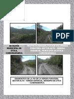 Proyecto Va Vereda Furatena Sector Alto Vereda Naranjal