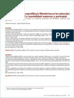 psicoprofilasxis y su contribucion