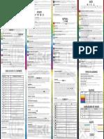 Tarjeta de Poderes y Habilidades 2014