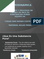 2.1 Fases y Procesos de Cambio de Fase en Sustancias Puras