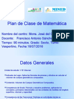 Planeamiento de matemática