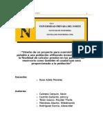 DETERMINACIONN DE PRESINES EN DISTINTOS PUNTOS EN UN RESERVORIO