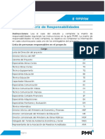 61- Modulo 8 Ejercicio Matriz de Responsabilidades