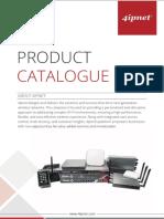 4ipnet Product Catalogue 2016
