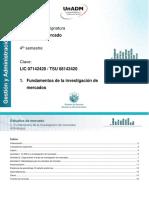 U1. Fundamentos de La Investigacion de Mercados_Actividades
