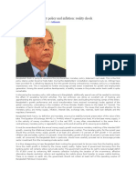 GDP Growth-fiscal Policy & Inflation