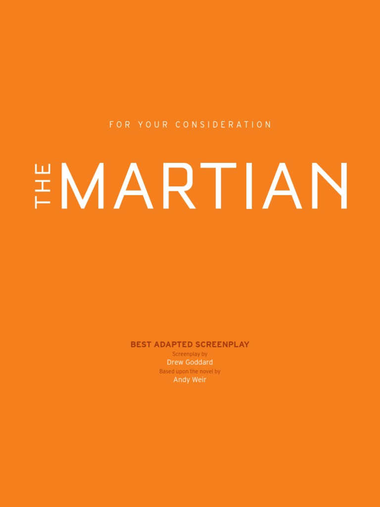 The Martian Weir Pdf