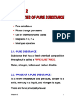 Properties of Pure Substance
