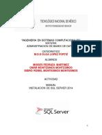 Ingenieria en Sistemas Computacionales_administracionde Bd_moises Pedraza_omar Montesinos_isidro Romel Montesinos