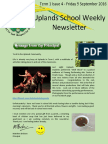 Uplands School Weekly Newsletter - Term1 Issue 4 - 9 September 2016