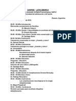 Programa Completo SAPCV 2016