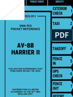 AV-8B Harrier II Pocket Reference