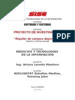 Proyecto Negocios y Tecnologías