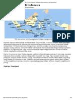 Daftar Provinsi Di Indonesia - Wikipedia Bahasa Indonesia, Ensiklopedia Bebas