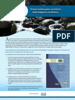 Tratos justos para servicios hidrológicos en Bolivia