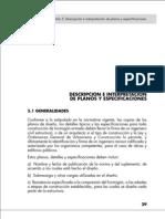 Capítulo 5 - Descripción e interpretación de planos y especificaciones