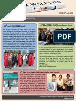 April - June Newsletter