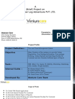 Travel Portal Venture Care (VC)