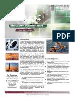 T006415 Shutdown Maintenance Course Brochure Issue 2 00