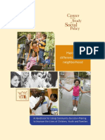 Making a Difference in Your Neighborhood a Handbook for Using Community Decision Making to Improve the Lives of Children Youth and Families