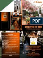 I JORNADA DE NATUROPATIA EN CABRA (CORDOBA)