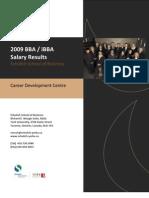 2009 BBA Employment Survey