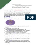 50 Contoh Kalimat Present Perfect Tense Dan Artinya