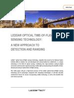 Leddar Optical Time of Flight Sensing Technology WP101 v1.3