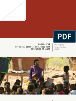 BANQUE MONDIALE – UNICEF MADAGASCAR, Revue des dépenses publiques 2014