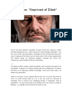 Deprived of Žižek/ Julie Reshe