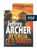 Jeffrey Archer - Ai Grija Ce-ti Doresti (v1.0)