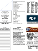 Calvary Bowling Green 5-30-2010 Bulletin