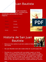 San Juan Bautista.power Point