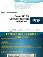 Lecture Des Façades Urbaines