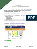 Ferrill Digital Curriculum Pendulum Lab Revised