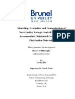 Modelling, Evaluation and Demonstration of Active VC for DG