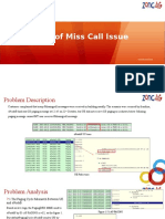 Analysis of Miss Call Issue V2 0