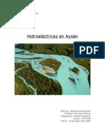 Hidroeléctricas en Aysen - Agustina Rodríguez