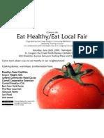 Eat Healthy/Eat Local LTI Fair