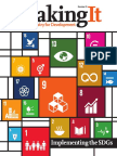 Making It #21 Implementing the SDGs