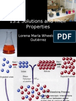 13.2 Solutions and Their Properties