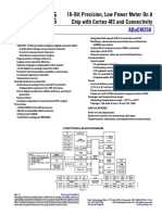 ADuCM350-Amperometric, Voltametric, And Impedometric