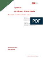 El gasto en cultura y ocio en España 310510