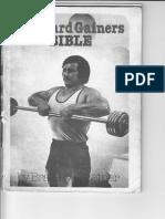 Hard Gainers Bible Bradley Steiner BODYBUILDING