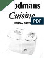 Goodmans Cuisine Gbm625 Aka Bush Bm635
