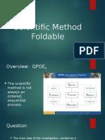 scientific method foldable 2