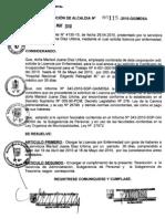 RESOLUCION DE ALCALDIA 115-2010/MDSA